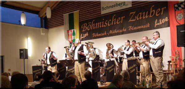 Böhmisch-mährische Blasmusik für Jung & Alt!